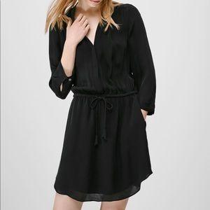 💛Aritzia black bennett dress